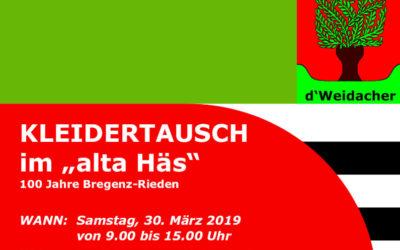Kleidertausch 2019-03