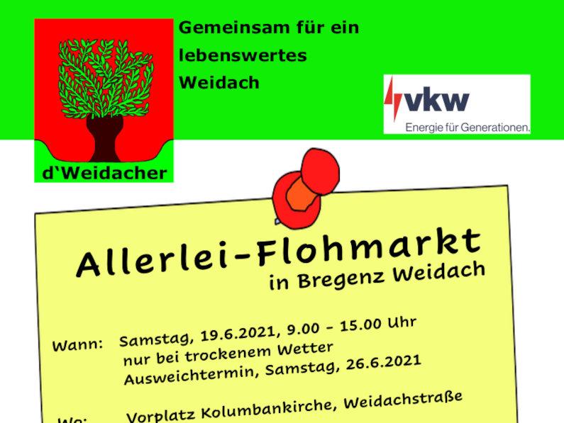 Weidacher Allerlei-Flohmarkt