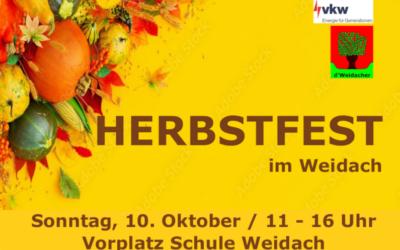 Herbstfest im Weidach